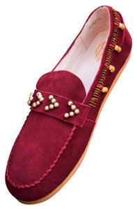 House of Harlow 1960 Bordeaux (Deep Berry) Flats