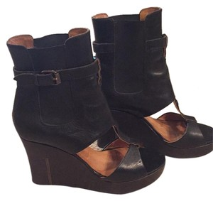 Diesel Black Wedges