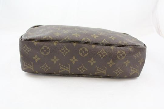Louis Vuitton Vintage Trousse Trousse Canvas Leather Pre-owned Gently Used Classic Signature Penny Lane Baguette