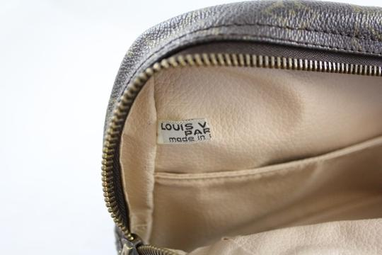 Louis Vuitton Vintage Trousse Trousse 28 Canvas Leather Pre-owned Gently Used Classic Signature Penny Lane Baguette