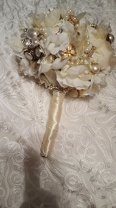 Bridal Brooch Bouquet Handmade