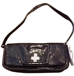 Donald J. Pliner Black Clutch