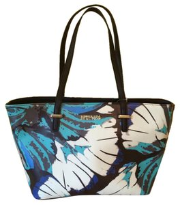 Kenneth Cole Reaction Tote in Blue & Black