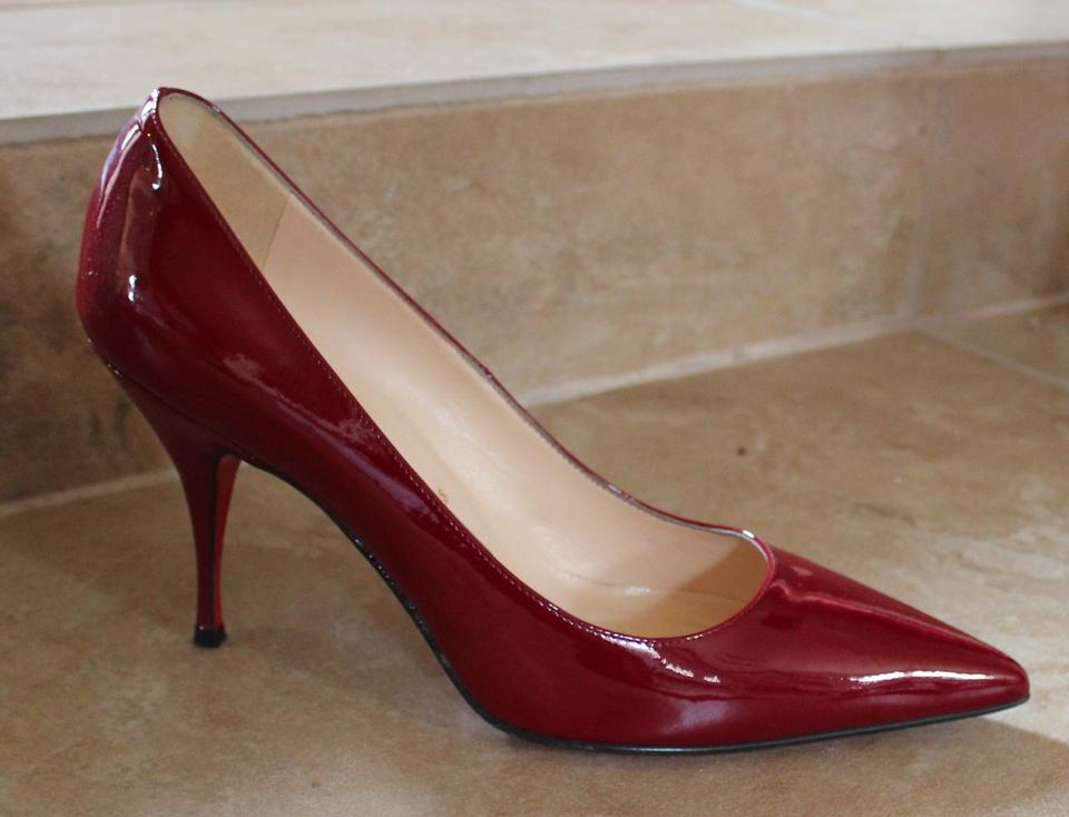 christian louboutin mens shoes replica - Christian Louboutin New Piaf 85 Mm Patent Leather Red Pumps ...