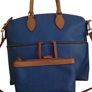 Dooney & Bourke Satchel in Sky Blue