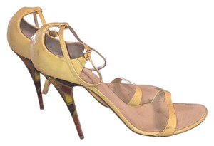 Giuseppe Zanotti Beigh with brown, orange and yellow Formal