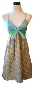 Lauren Moffatt short dress Light Blue/Multi Colored on Tradesy
