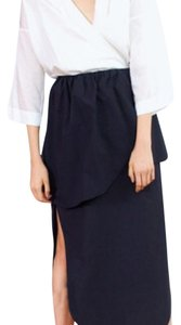 Isa Arfen Maxi Skirt Black