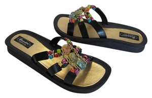 Grandco New Size 9.00 M Excellent Condition Black, Sandals