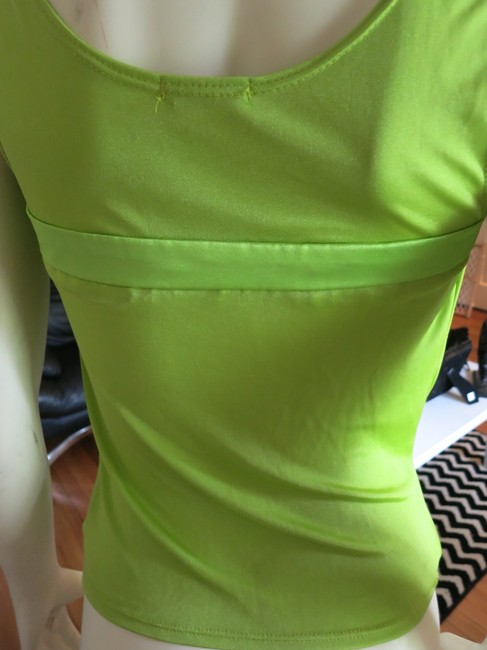 Rubber Ducky Productions, Inc. D Ring Party Top Lime Green