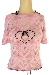 John Galliano Top pink