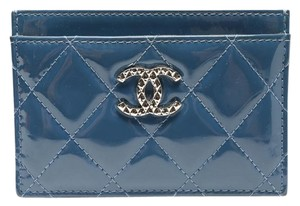 Chanel Quilted Card Case