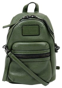 Marc Jacobs Mini Marc By Leather Green Cross Body Bag