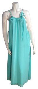 Aqua Maxi Dress by Grazia