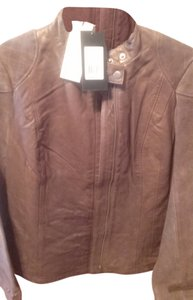 French Connection Wild Olive (brown) Leather Jacket