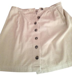 Chelsea Studio Corduroy Mini Skirt tan