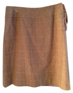 Jones Wear Wool Skirt tan