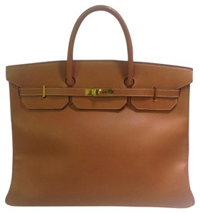 Hermès Birkin Saddle Leather Weekend Chic Shoulder Bag