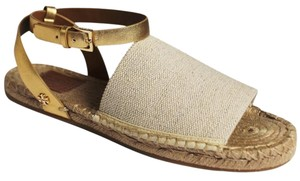 Tory Burch NATURAL GOLD Sandals