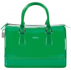 Furla Candy Candy Jelly Jelly Candy Candy Satchel in Green