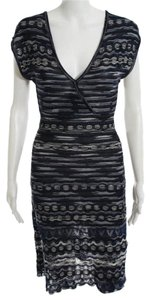 Missoni short dress Multicolor (Blue, Black, White) on Tradesy
