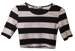 Forever 21 Top Black, white