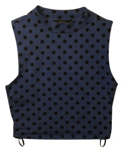 Forever 21 Top Blue, black
