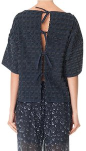 Tibi Rag & Bone Helmut Lang Openning Ceremony Anthropologie Top Navy