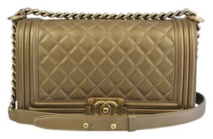 Chanel Double Caviar Cross Body Hermes Metallic Shoulder Bag