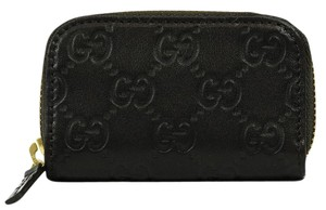 Gucci GUCCI 324801 GG Guccissima Mini Zip Around Coin Wallet