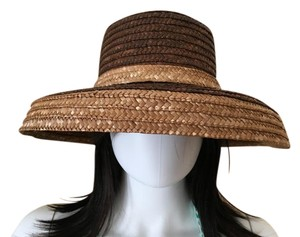 """April Cornell April Cornell """"Audrey Hepburn"""" Style Straw Summer Hat With Bow"""
