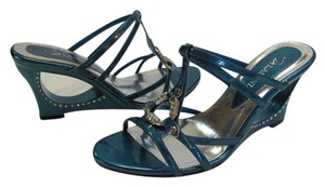 Lasonia Shoes New Size 9.00 M Excellent Condition Turquoise Sandals