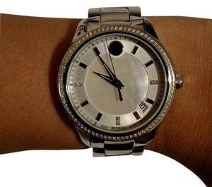 Movado Movado Bellina Watch w/Diamonds & Mother of Pearl