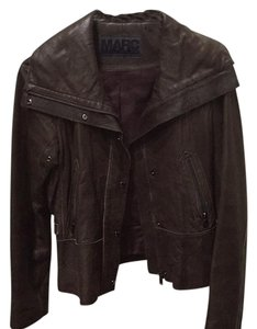 Andrew Marc Brown Leather Jacket
