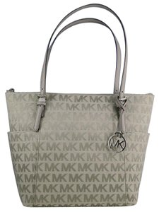 Michael Kors Signature Tote in Grey