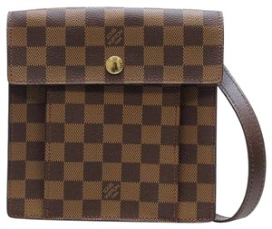 The Louis Vuitton Damier Canvas Pimlico Crossbody Bag Cross Body Bag