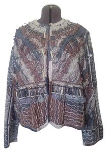 Multi beaded/metallic Jacket