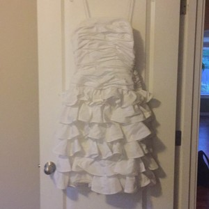 White Vintage Formal Wedding Dress Size 8 (M)