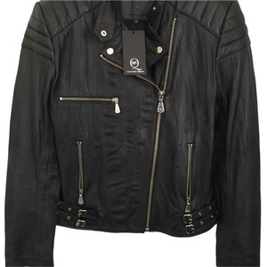 MCQ by Alexander McQueen Leather Moto Leather Leather Jacket