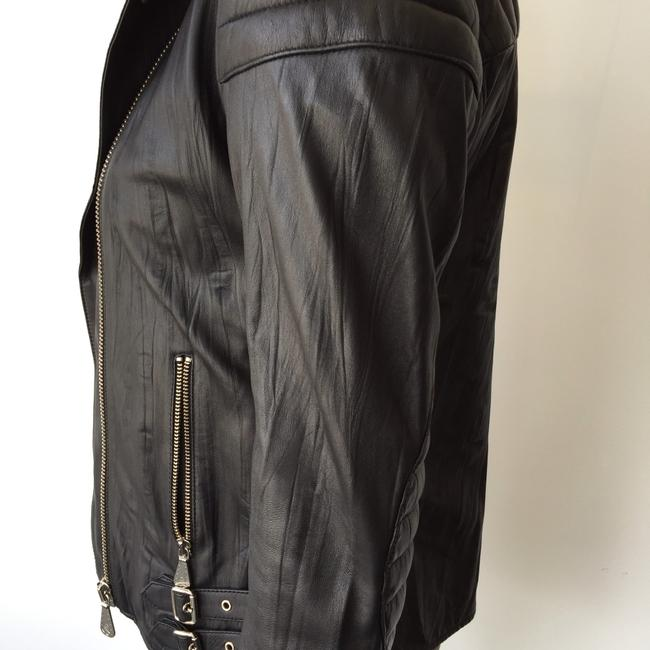 MCQ by Alexander McQueen Moto Leather Jacket Image 2