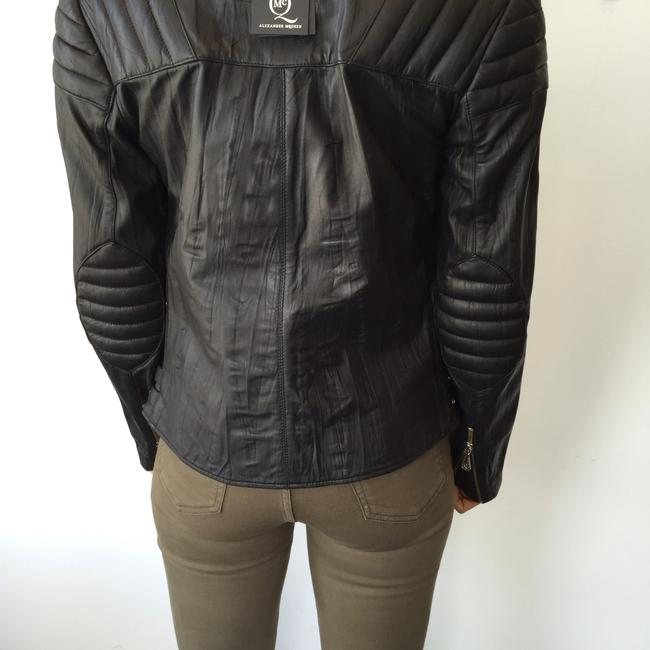 MCQ by Alexander McQueen Moto Leather Jacket Image 3