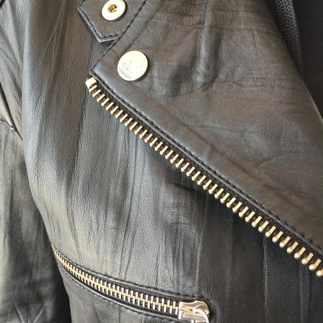 MCQ by Alexander McQueen Moto Leather Jacket Image 4