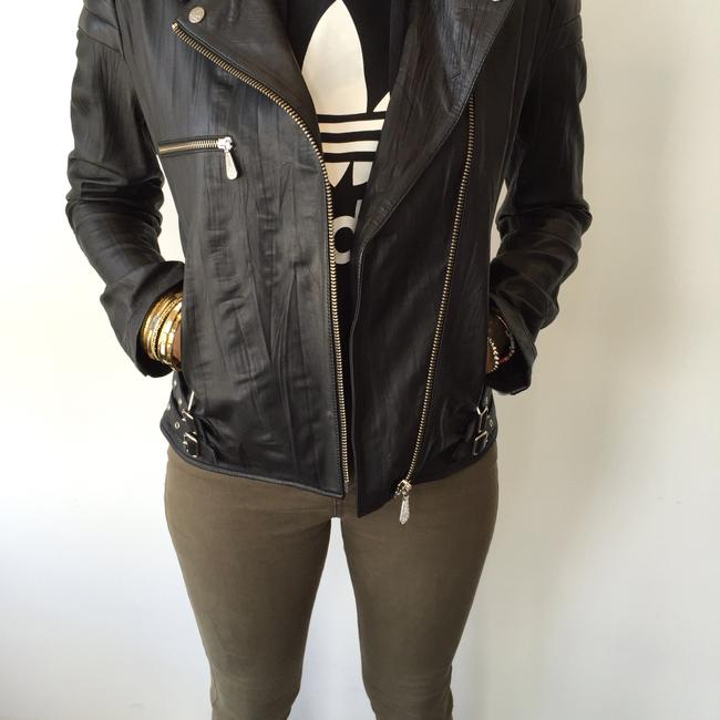MCQ by Alexander McQueen Moto Leather Jacket Image 7