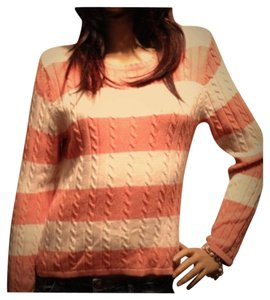 Christopher & Banks Cable Stripe Warm Fall Sweater