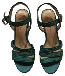 Franco Sarto Teal Wedges