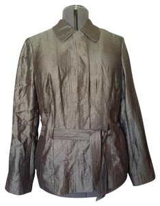 J. Jill Taupe metallic Jacket