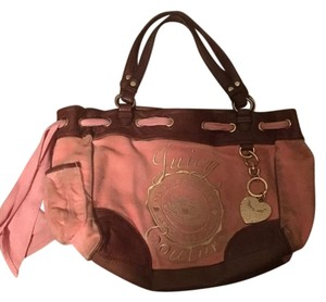 Juicy Couture Hard To Find Looks Almost New Tote in Pink