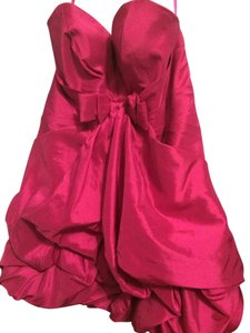 Night Moves Prom Collection Fuchsia Dress