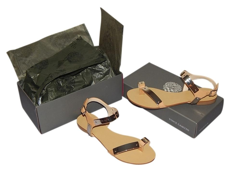 woman The Vince Camuto Outback Sandals The woman color is very noticeable 1e8b01