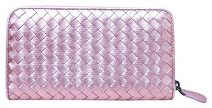 Bottega Veneta Bottega Veneta Intrecciato Zip-Around Wallet